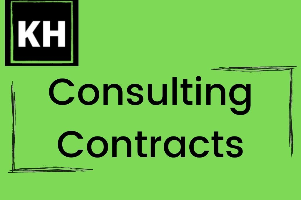 Logo for consulting contracts.