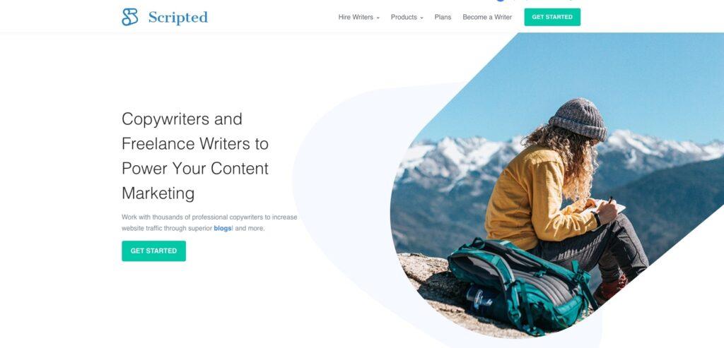 Scripted homepage screenshot.